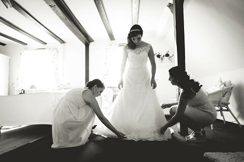 Hochzeit - Getting Ready